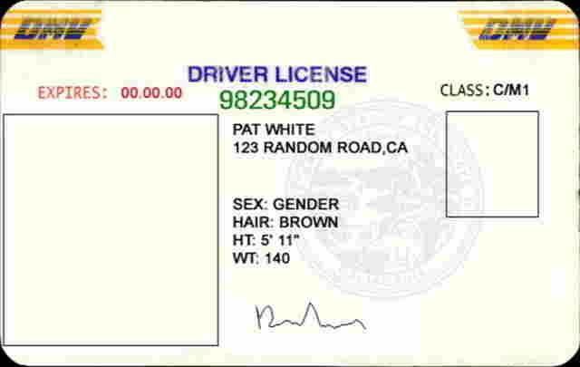 Boondocker Chatter Online - Driver's License